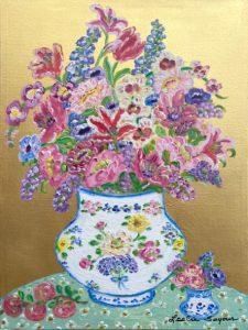 Flowers-in-Herende-Vase