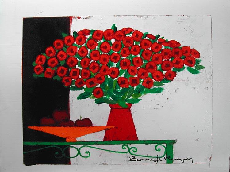 『赤いりんご』ロジェ・ボナフェ/Roger Bonafe