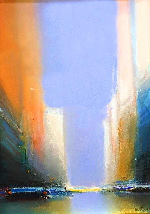 『N.Yの朝』ピェール・ドートルロー/Pierre Doutreleau