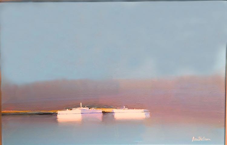 『霧かかすむ海』ピェール・ドートルロー/Pierre Doutreleau