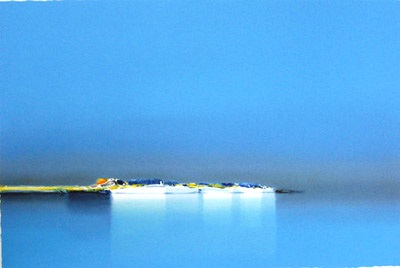『濃い青』ピェール・ドートルロー/Pierre Doutreleau