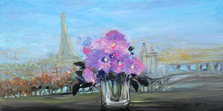 『パリとエッフェル塔』ミッシェル・アンリ/Michel Henry