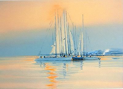 『夕べの印象』ピェール・ドートルロー/Pierre Doutreleau
