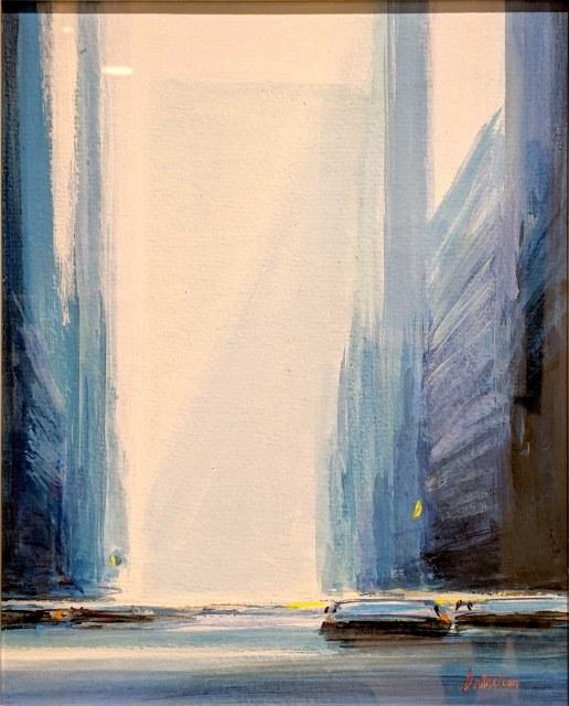 『N.Y.の朝』ピェール・ドートルロー/Pierre Doutreleau