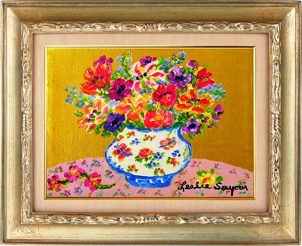 『ピンクテーブル』レスリー・セイヤー/Leslie Sayour