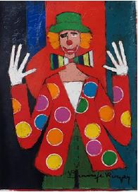 『小さなマリオネットと白い手袋』ロジェ・ボナフェ/Roger Bonafe