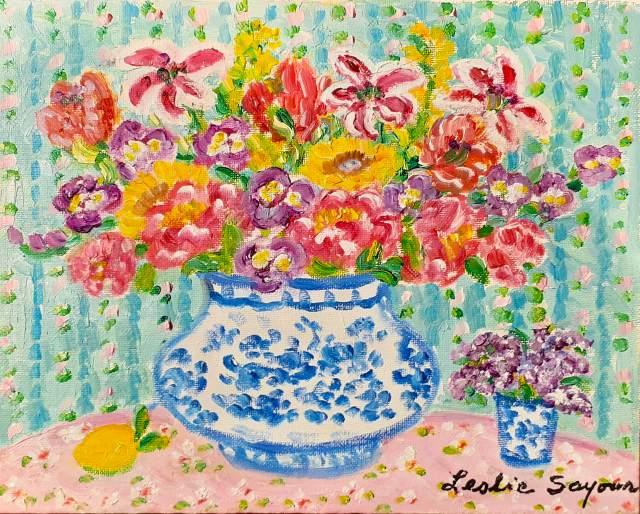 『Fresh Flowers』レスリー・セイヤー/Leslie Sayour