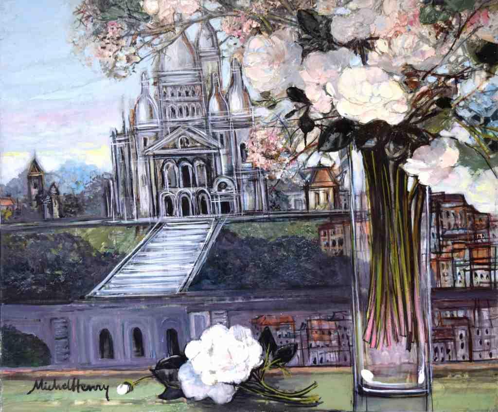 『モンマルトル サクレール寺院』ミッシェル・アンリ/Michel Henry
