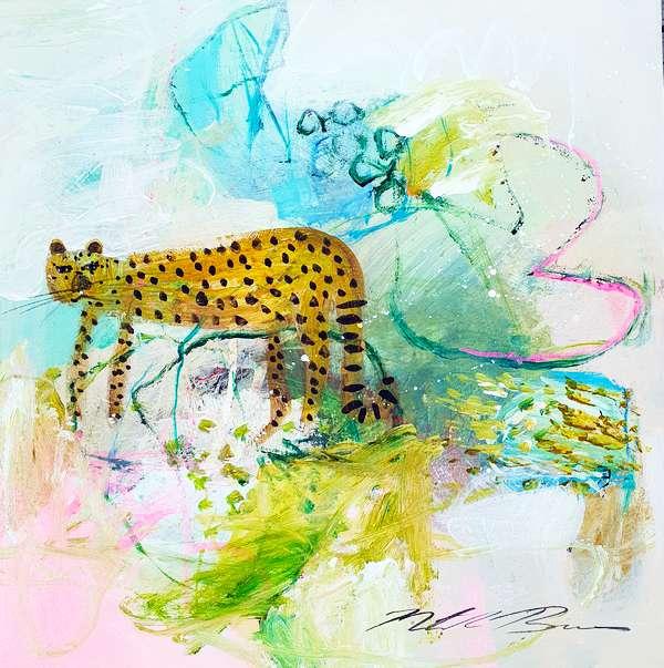 『Spotted Leopard』ナターシャ・バーンズ/Natasha Barnes
