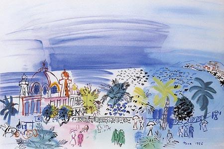 『ニースのカジノ』ラウル・デュフィ/Raoul Dufy