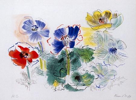 『アネモネ』ラウル・デュフィ/Raoul Dufy