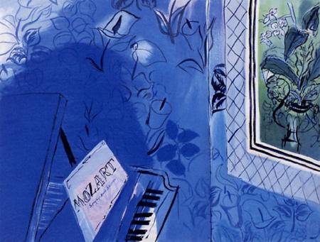 『モーツァルトに捧ぐ』ラウル・デュフィ/Raoul Dufy