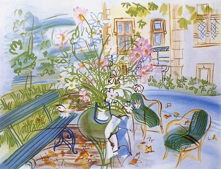 『モンソネの私たちの家』ラウル・デュフィ/Raoul Dufy
