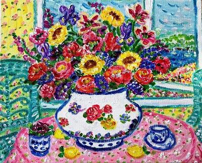 『Sunflower Romance』レスリー・セイヤー/Leslie Sayour