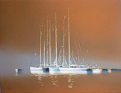 『褐色の海(ノーマージン)』ピェール・ドートルロー/Pierre Doutreleau