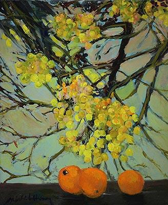 『オレンジとミモザ』ミッシェル・アンリ/Michel Henry