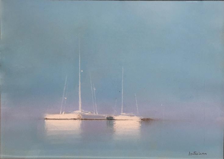 『ヨットの揺らめき』ピェール・ドートルロー/Pierre Doutreleau