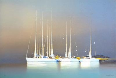 『褐色の帆船』ピェール・ドートルロー/Pierre Doutreleau