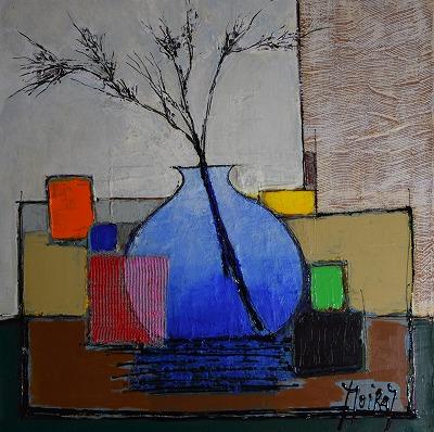 『青い花瓶』ジャン・モワラス/Jean Moiras